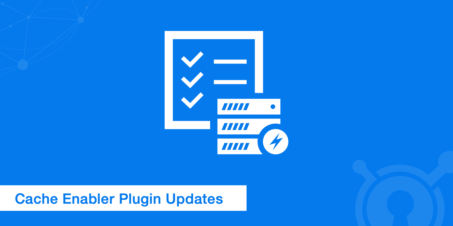 WordPress Cache Enabler Plugin Updates