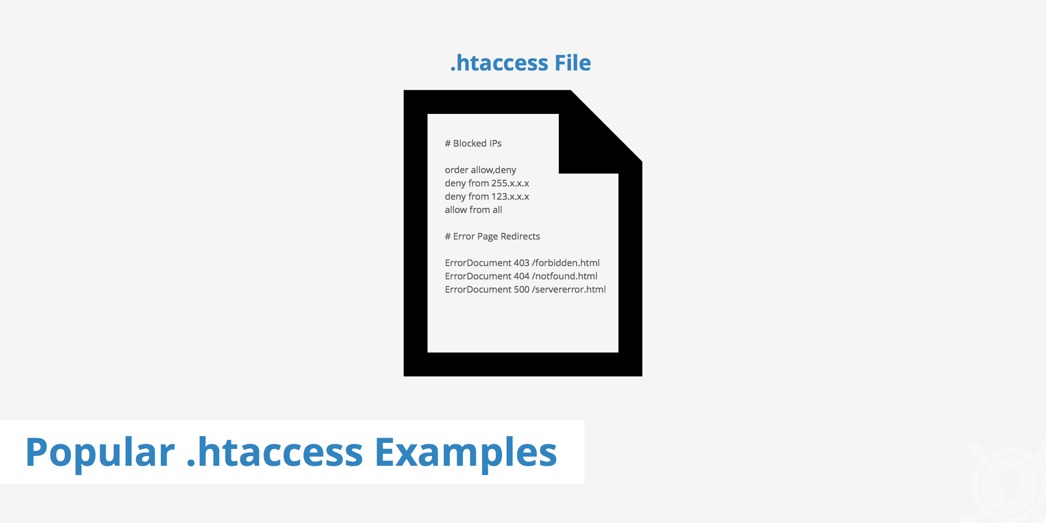 Popular  htaccess Examples - KeyCDN Support