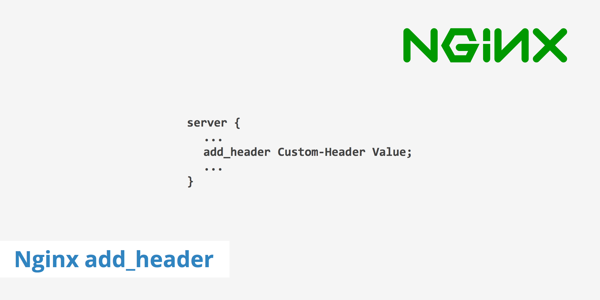 Using the Nginx add_header Directive - KeyCDN Support