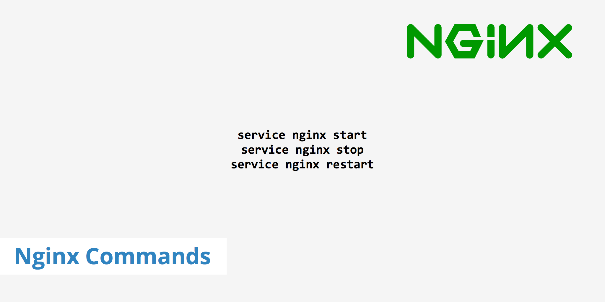 9 Popular Nginx Commands You Should Know - KeyCDN Support