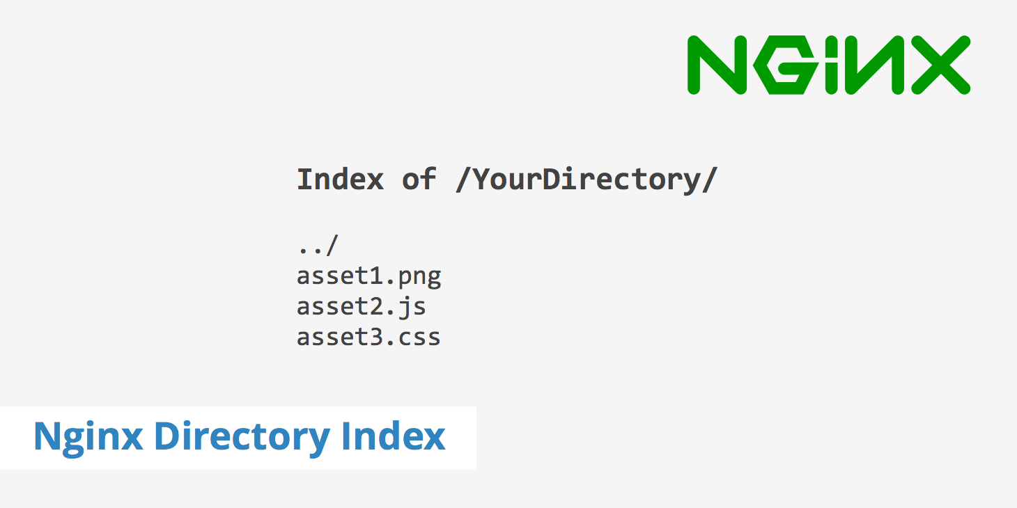 Enabling the Nginx Directory Index Listing